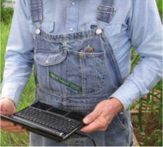 Leaf Sensor software for the farm